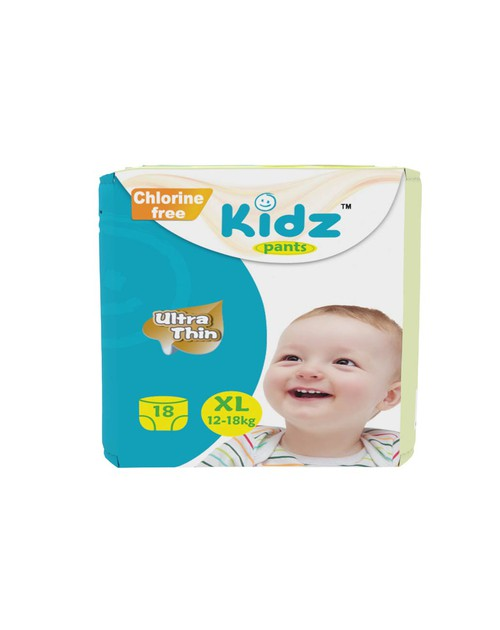 Kidz Pants Diaper XL (12-18kg) 18pcs